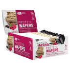 OPTIMUM NUTRITION ON PROTEIN WAFERS LOW SUGAR HIGH PROTEIN - 9 BARS