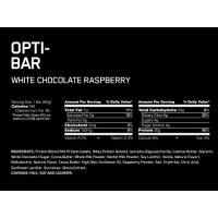 OPTIMUM NUTRITION ON OPTI-BAR LOW SUGAR HIGH PROTEIN LIKE QUEST - 12 BARS_3