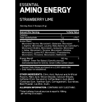 OPTIMUM NUTRITION ON BCAA AMINO ENERGY RECOVERY AND FOCUS (30 Servings, 270grams)_2