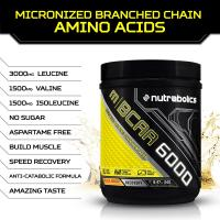 NUTRABOLICS M | BCAA 6000 Micronized Branched Chain Amino Acids (30 Servings, 240 grams)_2