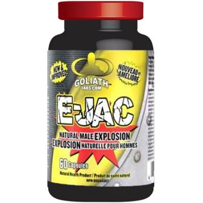 Goliath Labs E-JAC (formerly Ejaculoid) 60 capsules - SURPRISE YOUR PARTNER!!!_1