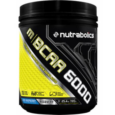 NUTRABOLICS M | BCAA 6000 Micronized Branched Chain Amino Acids (30 Servings, 240 grams)_1