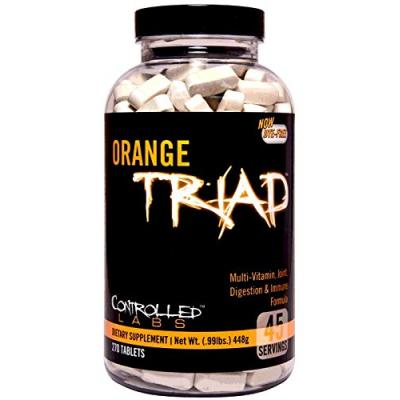 Controlled Labs Orange Triad, 45 Servings, 270 Tabs_1
