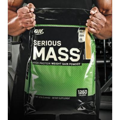 OPTIMUM NUTRITION ON SERIOUS MASS 12 lbs_1