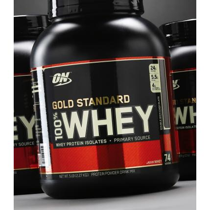 OPTIMUM NUTRITION ON WHEY GOLD STANDARD, 5LBS