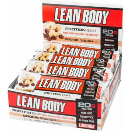 LABRADA LEAN BODY PROTEINS BARS - 12 BARS